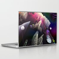 hologram Laptop & iPad Skins featuring Moonlight Drive by Antonio Jader