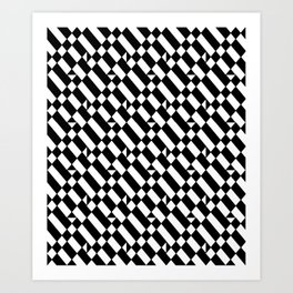 optical pattern 16 Art Print