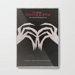 Nosferatu, eine Symphonie des Grauens Metal Print
