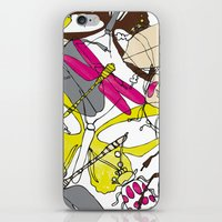 bugs iPhone & iPod Skins featuring bugs by Beatriz Lamanna