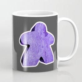 Giant Purple Meeple Coffee Mug