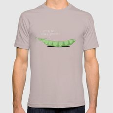 Awkward Timing Mens Fitted Tee SMALL Cinder