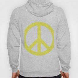 Peace (Light Yellow & White) Hoody