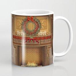 Christmas Fireplace Coffee Mug