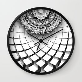 geometric2 Wall Clock