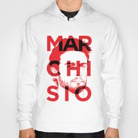 juventus Hoodies featuring MARCHI by Vectdo