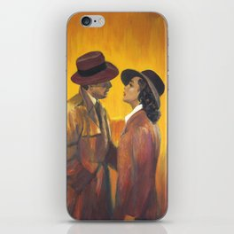 Casablanca film poster - The End iPhone Skin