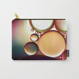 Oil On Water Colourful Carry-All Pouch