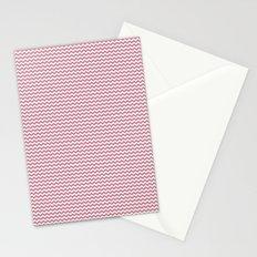 Chevron Rose Stationery Cards