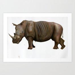 Rhinoceros I Art Print