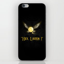 Hey Listen ! iPhone Skin