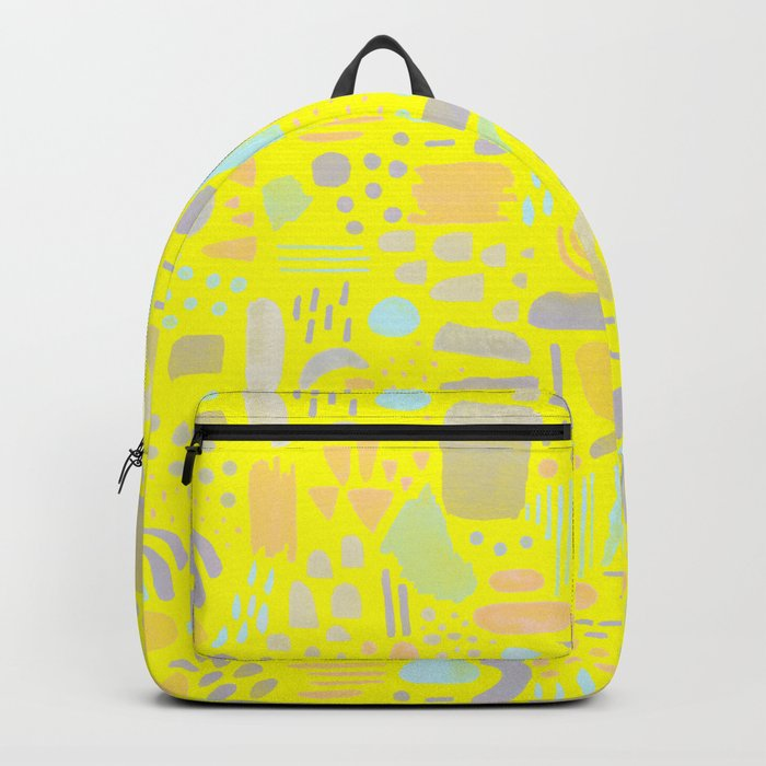 Dancing shapes Backpack