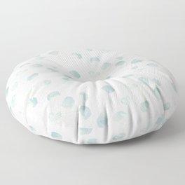 Silver Dollar Eucalyptus Floor Pillow