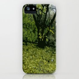 Budapest Green  iPhone Case