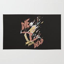 Die When You're Dead Rug
