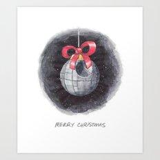 Death Star of Bethlehem Art Print