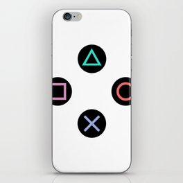 Play with Playstation Controller Buttons iPhone Skin