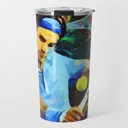 Roger Federer Colorful Travel Mug