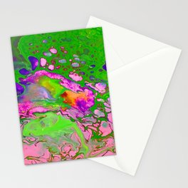 Green Acid Stationery Cards