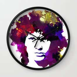 Jin Morrison (theDOORS) Wall Clock