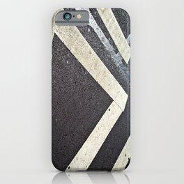 New York City Crosswalk lines iPhone Case