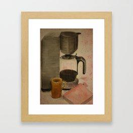 Dream Coffee Framed Art Print