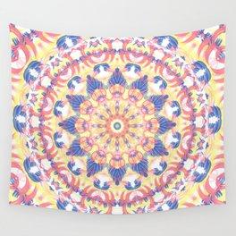 Kaleidoscope Brushed Wall Tapestry