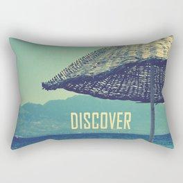 discover Rectangular Pillow