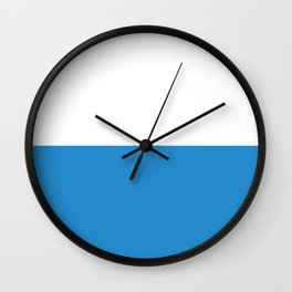 Lucerne region switzerland country flag swiss Wall Clock