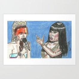 """Miley, What's Good?"" 2015 Art Print"