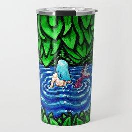 Mermaid Yearn Travel Mug