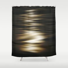 Light flow 2 Shower Curtain