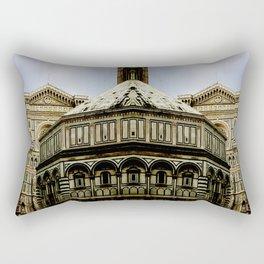 Multiplication of Beauty Rectangular Pillow