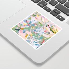summer succulents Sticker