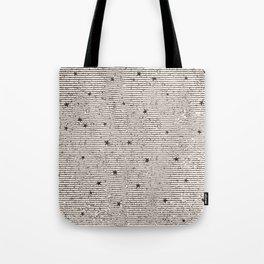 Sideral Heavens - Black Tote Bag