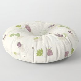 My Potted Cactus Pattern Floor Pillow