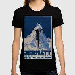 Vintage Zermatt Switzerland Travel T-shirt