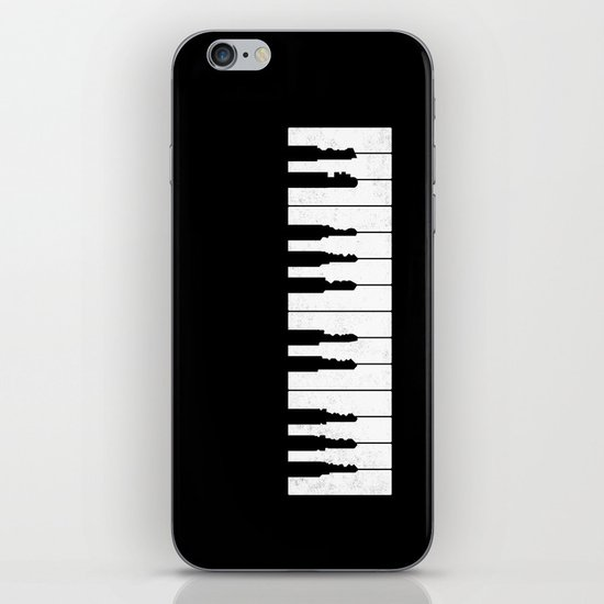 Piano Keys iPhone & iPod Skin