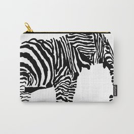 Elephant Canvas Print Carry-All Pouch