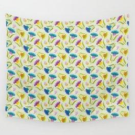 Summer. Butterflies. Wall Tapestry