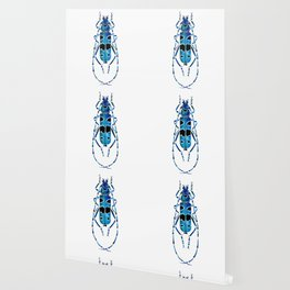 Beetle 09 blue Wallpaper