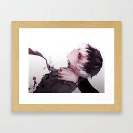 Kaneki Hiase Ghoul Framed Art Print