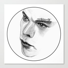 Captivating Eyes Canvas Print