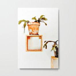 Plant Wall | #society6 #decor #buyart Metal Print