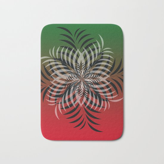 color leaf 2 Bath Mat