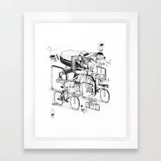 Ride 'till I die Framed Art Print