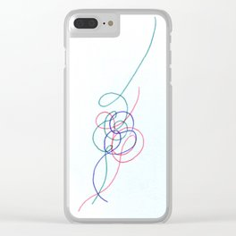 Psychology #116 Clear iPhone Case