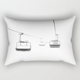 Lifts from and to nowhere Rectangular Pillow