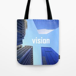 Vision and Buildings Tote Bag