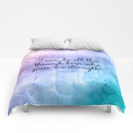 Philippians 4:13, Inspiring Bible Verse Comforters